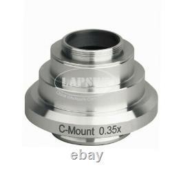 0.35X 0.55 0.7 0.8 1.2X C-Mount Camera CTV Adapter F Leica Trinocular Microscope