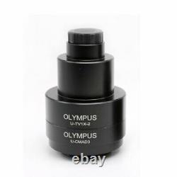 0.35X-1X Trinocular Microscope Reduce Lens C-mount CCD Camera Adaptor f/Olympus