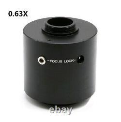 0.63X Olympus Microscope C-Mount Lens USB Camera Adapter Reduction Relay Lens