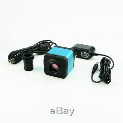 14MP HDMI Microscope Camera 0.5X C-Mount Adapter USB Industry Digital Eyepiece