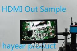 14MP HD HDMI USB Digital Industry Microscope Camera 0.5X Eyepiece Lens Adapter