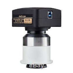 14MP USB3.0 Digital Camera with 0.55X Adapter for Nikon Microscopes