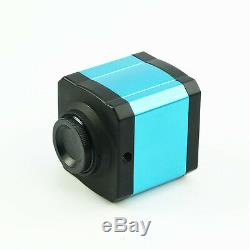 14MP USB 2.0 Digital Camera Eyepiece Microscope with C-mount Ring Adapter HDMI