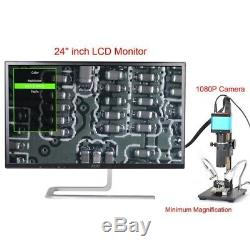 14Mp 1080P Hdmi Usb Digital Industry Camera With Ccd C Mount Lens Adapter I2F1