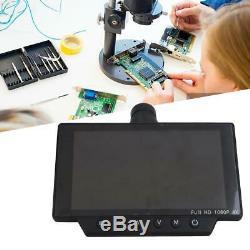 16MP 60FPS HDMI USB WIFI Microscope Camera 0.5x C Interface Lens Adapter