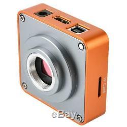 21MP 2K HDMI USB Industrial Microscope Camera with Conversion Adapter EU Plug