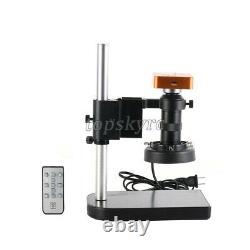 21MP Industrial Microscope Camera 100X Lens 2K/1080P 60FPS HDMI USB 56LED tpys