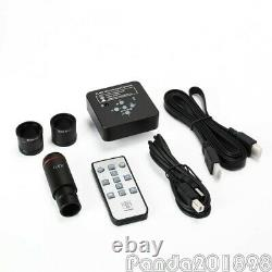 21MP Industrial Microscope Camera HDMI USB with 0.5X Adapter 30mm & 30.5mm Rings