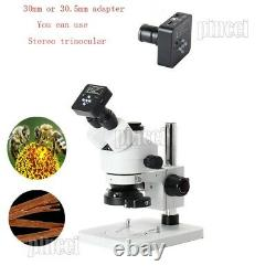 21MP Industrial Microscope Camera USB HDMI 2K 1080P with 120X Lens Adapter Ring