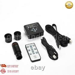 21MP Microscope Camera HDMI USB 2K 1080P 60FPS with 0.5X Adapter 30mm&30.5mm Rings