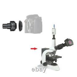 2X DSLR/SLR Camera Lens ADAPTER Microscope Use C-Mount for Nikon / Canon EOS