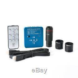 34MP HDMI USB Electronic Industrial Microscope 2K Camera /0.5X Eyepiece Adapter