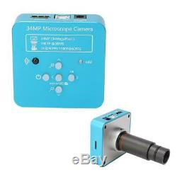 34MP Industry Microscope Camera with 0.5xC-Mount Adapter 100-240V