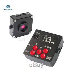 3.5X-90X Stereo Zoom Trinocular Microscope 14/16/21MP HDMI Camera phone Repair