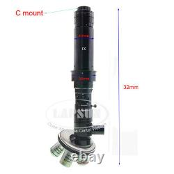 50X-4000X Multi Objective Industry Microscope Camera Coaxial Light C-mount Lens