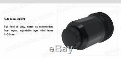 8MP Microscope Telescope Electronic Eyepiece Camera w 20-43mm Universal Adapter