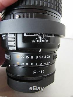 AF Nikon 60MM f/2.8 12.8 Lens Microscope Camera Adapter Japan