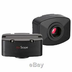 AmScope 10MP USB Microscope Digital Camera 30fps Video Windows Compatible MA1000