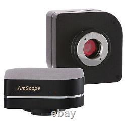 AmScope 3.0MP Scientific CMOS Fluorescence Microscope Camera