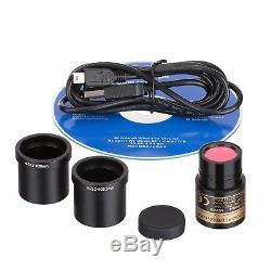 AmScope 5MP Photo & Live Video Microscope Imager Digital USB Eyepiece Camera