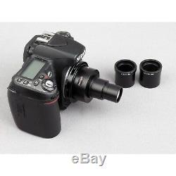 AmScope CA-NIK-SLR Nikon SLR/DSLR Camera Adapter for Microscopes