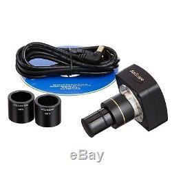 AmScope MU300 3MP USB2.0 Microscope Digital Camera + Software
