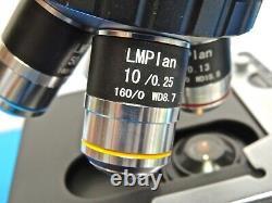 AmScope Microscope with MU500 EyePiece Camera 5.1MP