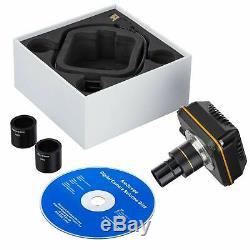 Amscope 10MP High-Speed Digital Microscope Camera USB 3.0 w Windows Software