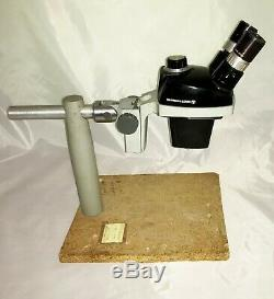Bausch & Lomb StereoZoom 4 Microscope Pod on Boom Stand wth Camera Adapters, etc