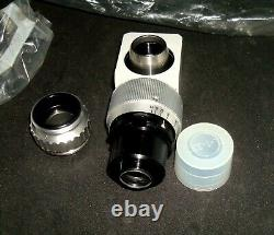 CARL ZEISS OPMI Surgical Microscope Camera Adapter F=137 IRIS C Mount NOS UNUSED