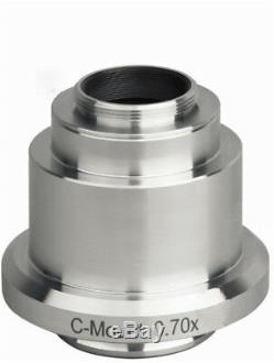 CCD Camera TV Adapter C Mount f Leica Microscope 0.35X 0.55X 0.7X 0.8X 1X 1.2X
