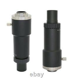 C Mount Microscope Lens Adapter CCD Interface Camera Adaptor for Leica MS5 MZ6