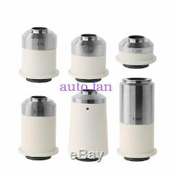 C-mount 0.35X 0.55X 0.7X0.8X 1X 1.2X Camera Adapters Lens for microscope