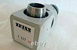 Carl ZEISS f 137 T Camera Adapter C-mount for OPMI Surgical Microscope