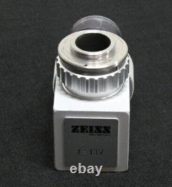 Carl Zeiss OPMI Surgical Microscope Camera Adapter f=137 f137 C Mount