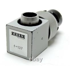 Carl Zeiss OPMI Surgical Microscope Camera Adapter f=137 f137 with C-Mount