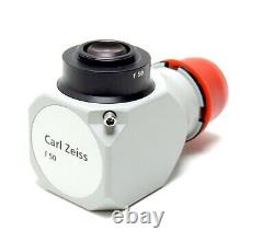 Carl Zeiss OPMI f=50 f50 C-Mount Surgical Microscope Camera Adapter