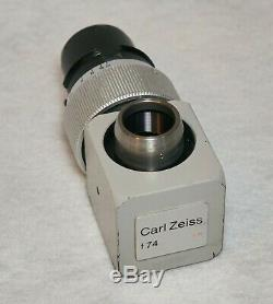 Carl Zeiss f74 T Camera Adapter/Aperture microscope accessory