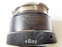 Diagnostic Instruments 3CCD T45S, 0.45X Microscope Camera Adapter