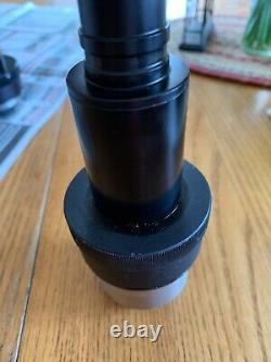 Diagnostics Instruments HRD076-CMT 0.76X C Mount Focus Camera Adapter Microscope