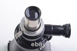 EXC++ LEITZ WETZLAR MICCA MICROSCOPE ADAPTER #1095, withPLATE, WORKS GREAT