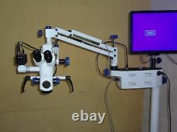 FIVE Step Dental Surgical Microscope Motorized with Accessories FREE SHIPPING