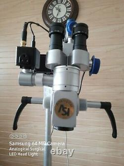 FIVE Step ENT Dental Surgical Microscope Motorized focousing camera free ship3