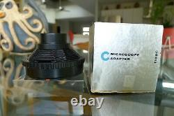 Hasselblad Microscope Adapter TIOBC 40045 NOS Never Used Worn Box See My Store