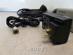 Hitachi HV-F22CL-S8 3CCD SXGA Color Microscope Camera with AC adapter & Cables