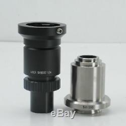 Leica 1x Hc C-mount Microscope Camera Adapter 10 450 317/541 510