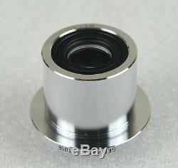 Leica Leitz Microscope 0.5x C-Mount Video Camera Adapter 541016, Ø37mm