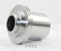 Leica Wild 1X C-Mount Video Camera Adapter For MZ Series Ø38mm for Microscope