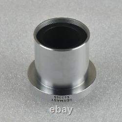 Leica Wild 543345 1X C-Mount Microscope Video Camera Adapter For MZ Series Ø38mm