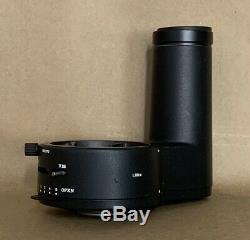 Leica Wild Stereo Microscope Photo Camera Tube Adapter Phototbus 162370